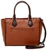 Cole Haan Addey II Extra Wide Leather Satchel