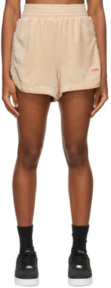 Nike Pink Terry Sportswear Shorts