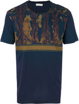 Etro bear and deer print T-shirt