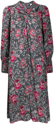 Etoile Isabel Marant Ruched Neck Dress