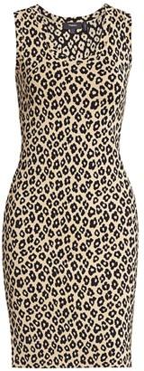 Theory Leopard-Print Tank Dress