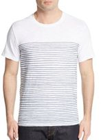 Vince Painted Striped Tee