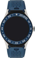 Tag Heuer Quartz black dial blue strap
