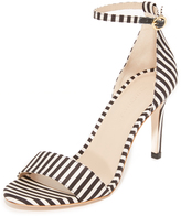 Zimmermann Printed Strap Sandals
