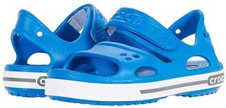 Crocs Crocband II Sandal (Toddler/Little Kid) (Bright Cobalt/Charcoal) Boy's Shoes