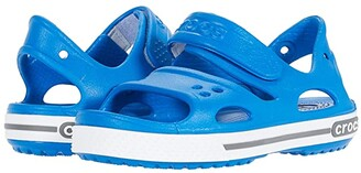 Crocs Crocband II Sandal (Toddler/Little Kid) (Bright Cobalt/Charcoal) Kids Shoes