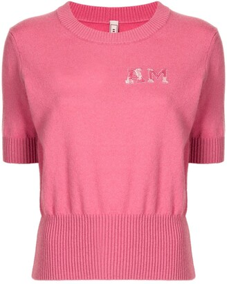 Antonio Marras Short-Sleeve Cashmere Jumper