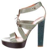 Lanvin Karung Platform Sandals
