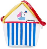 Simonetta beach hut shoulder bag