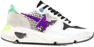 Golden Goose Lace-Up Running Sneakers