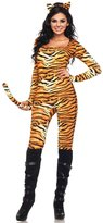 Leg Avenue Women's 2 Piece Wild Tigress Catsuit Costume