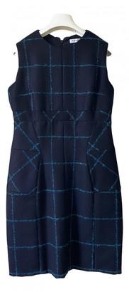 Christian Dior Navy Wool Dresses