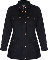 City Chic Black Edit Jacket