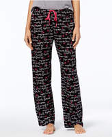 Hue Inspirational-Script Printed Pajama Pants