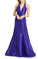 Thumbnail for your product : Mac Duggal Taffeta Trumpet Gown