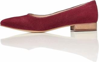 Find. Women's Suede Shoes Red (Bordo) 4 UK (37 EU)