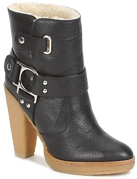 Belle by Sigerson Morrison ZUMA women's Low Ankle Boots in Black