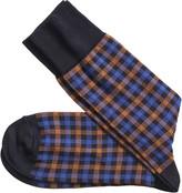 Johnston & Murphy Windowpane Socks