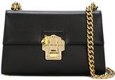 Dolce & Gabbana gold lock shoulder bag