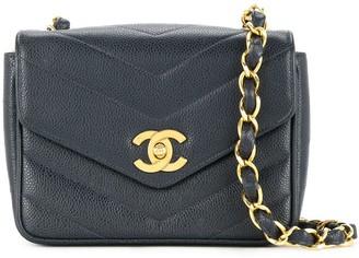 Chanel Pre-Owned 1994-1996 V stitch shoulder bag