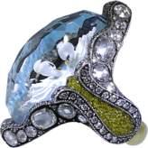 Sevan Biçakci Carved Swans Ring