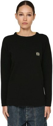 Loewe Anagram Logo Knit Wool Sweater