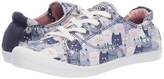 BOBS from SKECHERS Beach Bingo - Kitty Concert (Navy) Women's Lace up casual Shoes