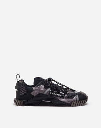 Dolce & Gabbana Ns1 Sneakers In Mixed Materials
