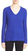 Autumn Cashmere Women's Shaker Stitch Cashmere V-Neck Sweater