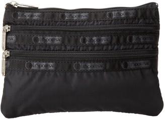 Le Sport Sac 3 Zip Cosmetic Bag