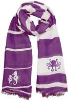 Winky Designs Purple Seahorse Scarf