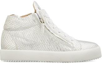 Giuseppe Zanotti Justy snakeskin-effect sneakers