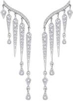 Swarovski Flame Pierced Earrings