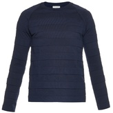 Balenciaga Crew-neck Cotton-blend Sweater