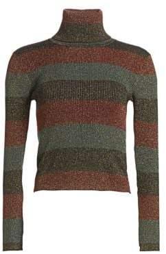 A.L.C. Mariel Stripe Turtleneck Sweater