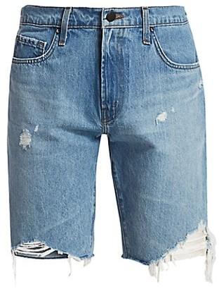 J Brand Eli Cut-Off Distressed Denim Shorts