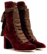 Chloé Harper Velvet Boots