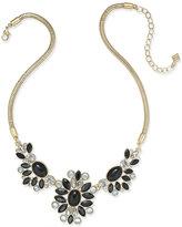Vera Bradley Gold-Tone Crystal Glitz Statement Necklace
