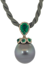 Inbar Tahitian Pearl Pendant Necklace