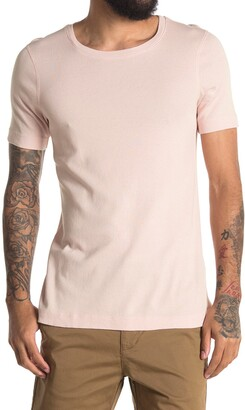 Three Dots Short Sleeve Crew Neck T-Shirt