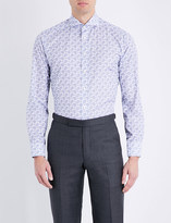 Eton Paisley slim-fit cotton shirt
