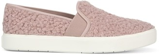 Vince Blair Faux-Shearling Slip-On Sneakers