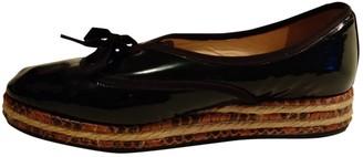 Bottega Veneta Black Patent leather Espadrilles