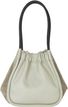 Proenza Schouler Ruched Large Suede Side Tote