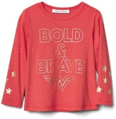 Gap Junk Food Wonder Woman cape tee