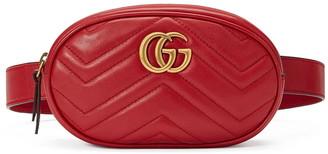 Gucci GG Marmont 2.0 Matelasse Leather Belt Bag