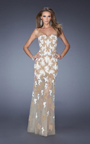 La Femme 20459 Beaded Sweetheart Sheath Dress