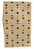 Mia Headband Model No. 01752 - Cream with Multi-Colored Dots