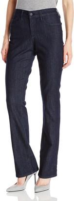 NYDJ Women's Billie Mini Bootcut Jeans Dark Enzyme