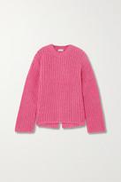 By Malene Birger + Net Sustain Nosema Open-back Alpaca-blend Sweater
